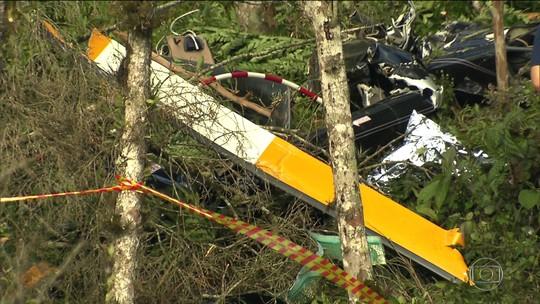 Helicóptero que caiu com noiva não tinha autorização para voos fretados, diz Anac