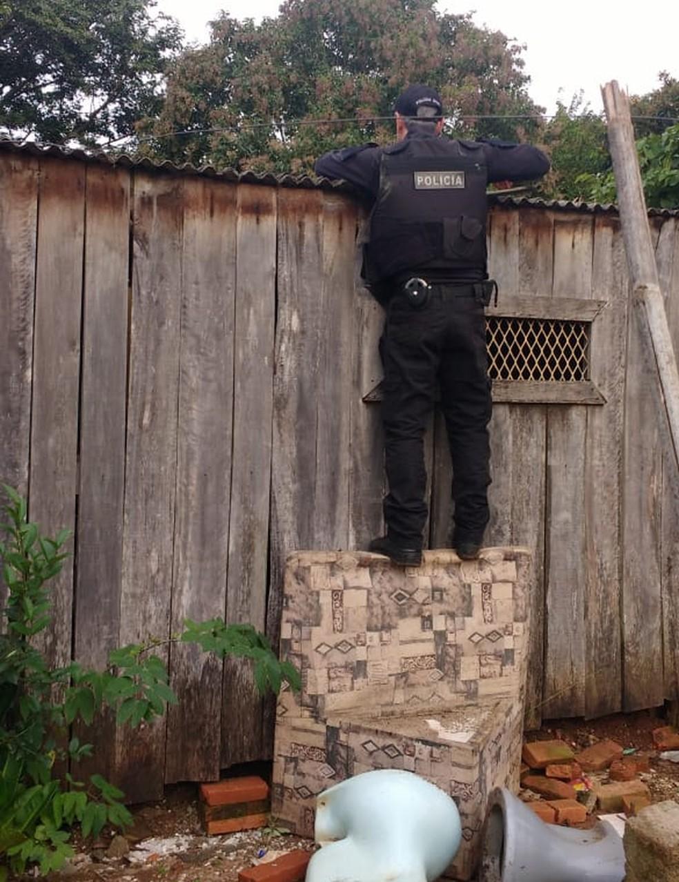 Traficantes de cidades próximas da Capital montaram uma ramificação da facção criminosa em São Sepé. — Foto: Polícia Civil/Divulgação