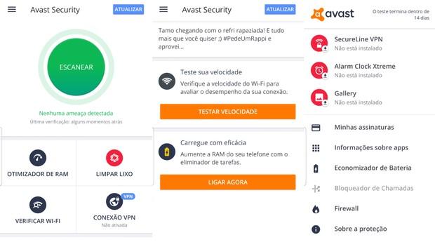 Avast Antivirus 2019 (Foto: Reprodução/ Avast Antivirus 2019)
