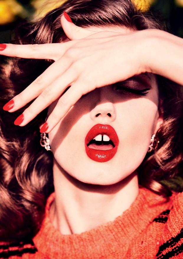 Clique da modelo Lindsey Wixson, em 2015 (Foto: Divulgação)