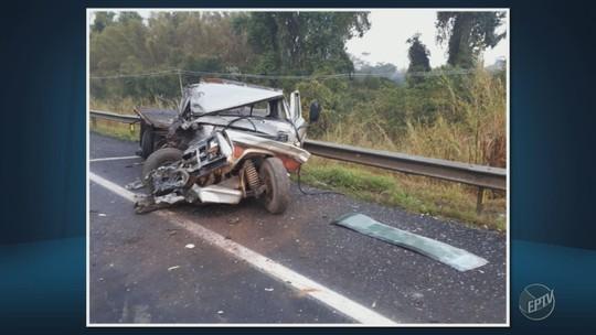 Acidente em rodovia de Itapira deixa um ferido na manhã desta terça-feira