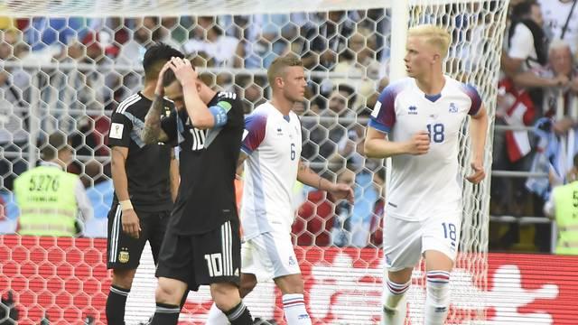 Messi Argentina x Islândia