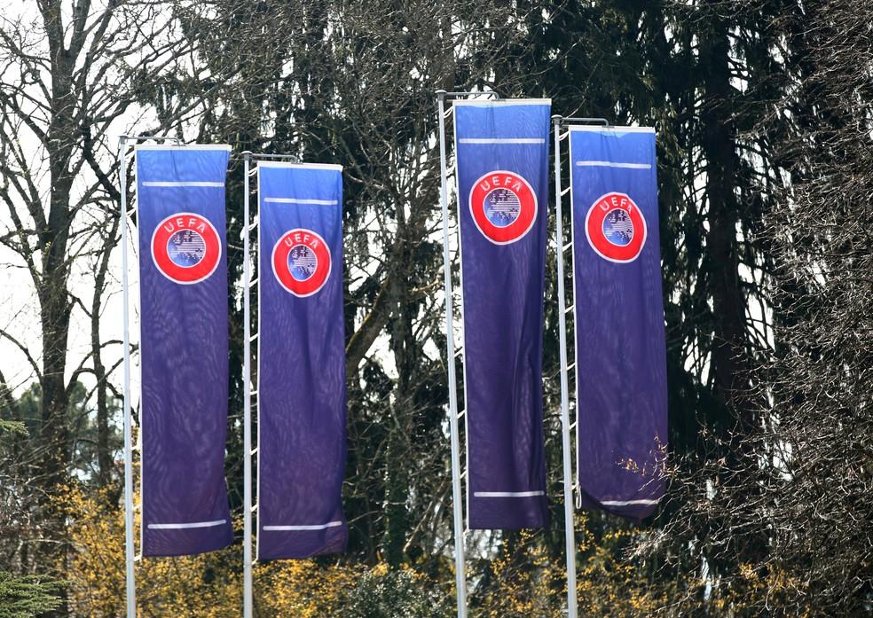 Sede da Uefa, em Nyon — Foto: Reuters