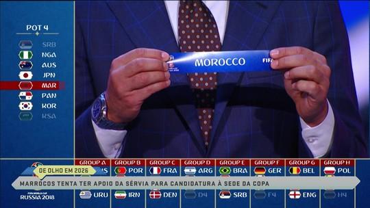 Marcos Uchôa explica interesse do Marrocos em  rivais do Brasil na Copa