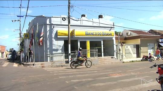 Agência bancária é alvo de bandidos em Vitorino Freire, MA