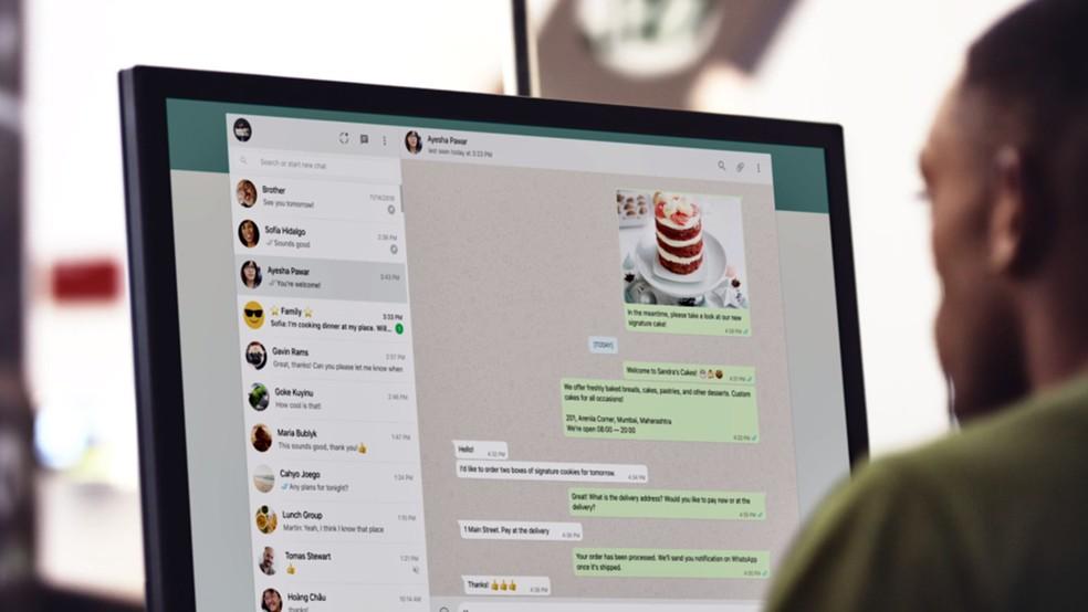 WhatsApp Business lança novas funções para web e desktop — Foto: Divulgação/WhatsApp