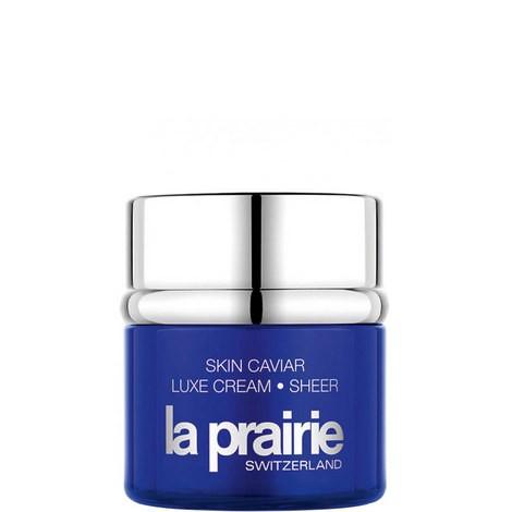 Skin Caviar Luxe Cream Sheer La Prairie  (Foto: divulgação)
