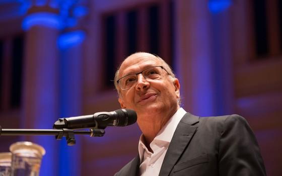 O governador do estado de São Paulo, Geraldo Alckmin (Foto: Luis Blanco /A2img / Flickr Governo do Estado de SP)