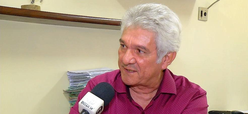 Clécio Antônio Ferreira dos Santos, superintendente afastado do Ibama no RN (Foto: Reprodução/Inter TV Cabugi)