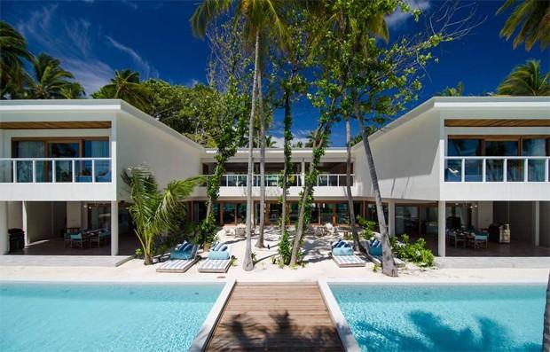 Hotel nas Ilhas Maldivas (Foto: Reprodução/Amilla Fushi)
