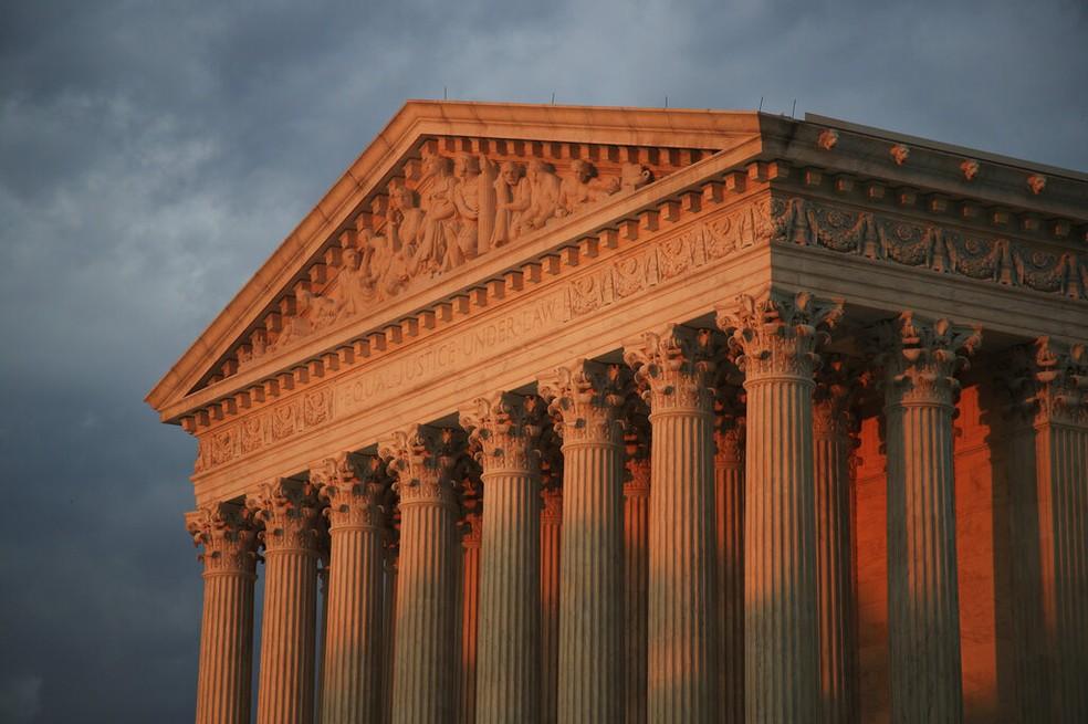 Fachada da Suprema Corte dos EUA, em foto de 2018 — Foto: Manuel Balce Ceneta/Arquivo/AP Photo