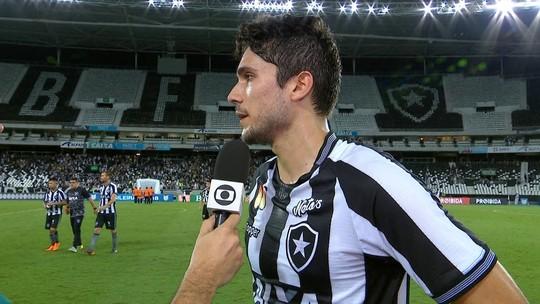 """Igor Rabello minimiza criticas da torcida contra o Palmeiras: """" Estão corretos em cobrar"""""""