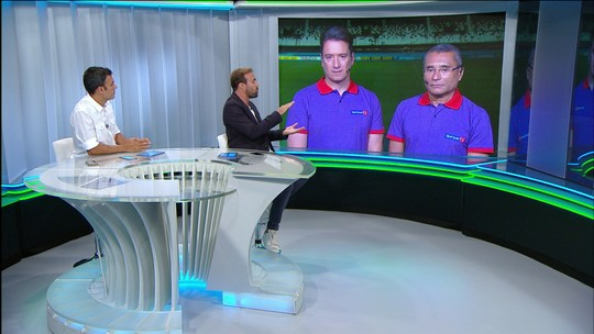 """Roger comenta entrada de de Rildo em João Paulo: """"É para machucar o adversário"""""""