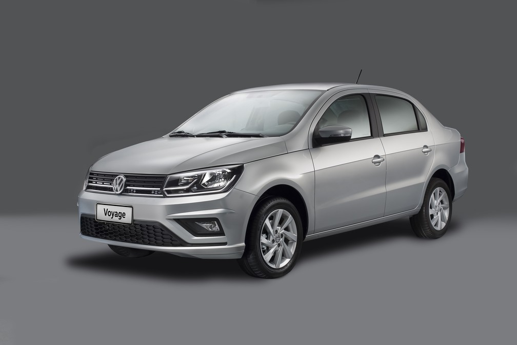 Volkswagen Voyage 2019 (Foto: Divulgação)
