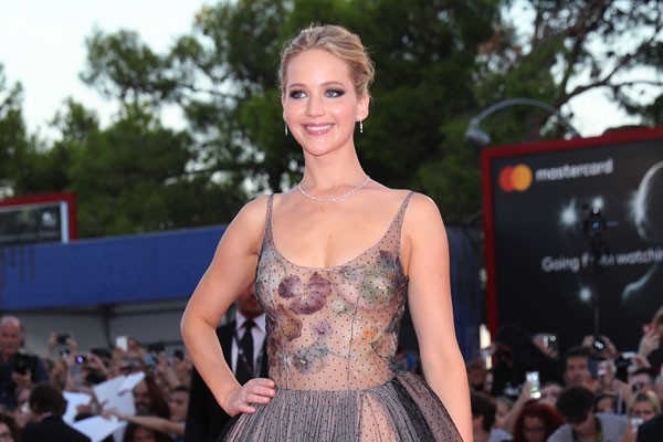 Jennifer Lawrence no Festival de Veneza (Foto: Getty)
