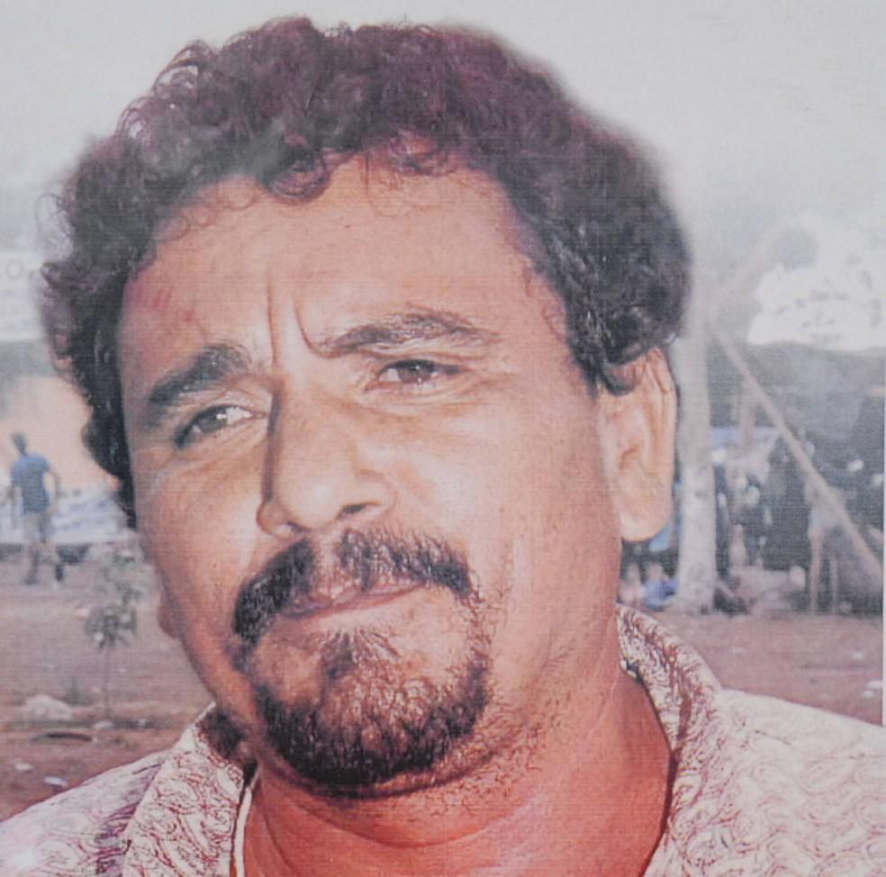 O sindicalista Dezinho foi morto em 2000, em Rondon do Pará — Foto: Cristino Martins / O Liberal