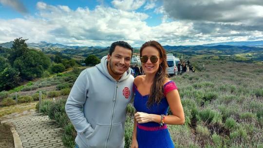 'Haja Coração': assista cena que Mariana Ximenes e Malvino Salvador gravaram em Cunha (SP)