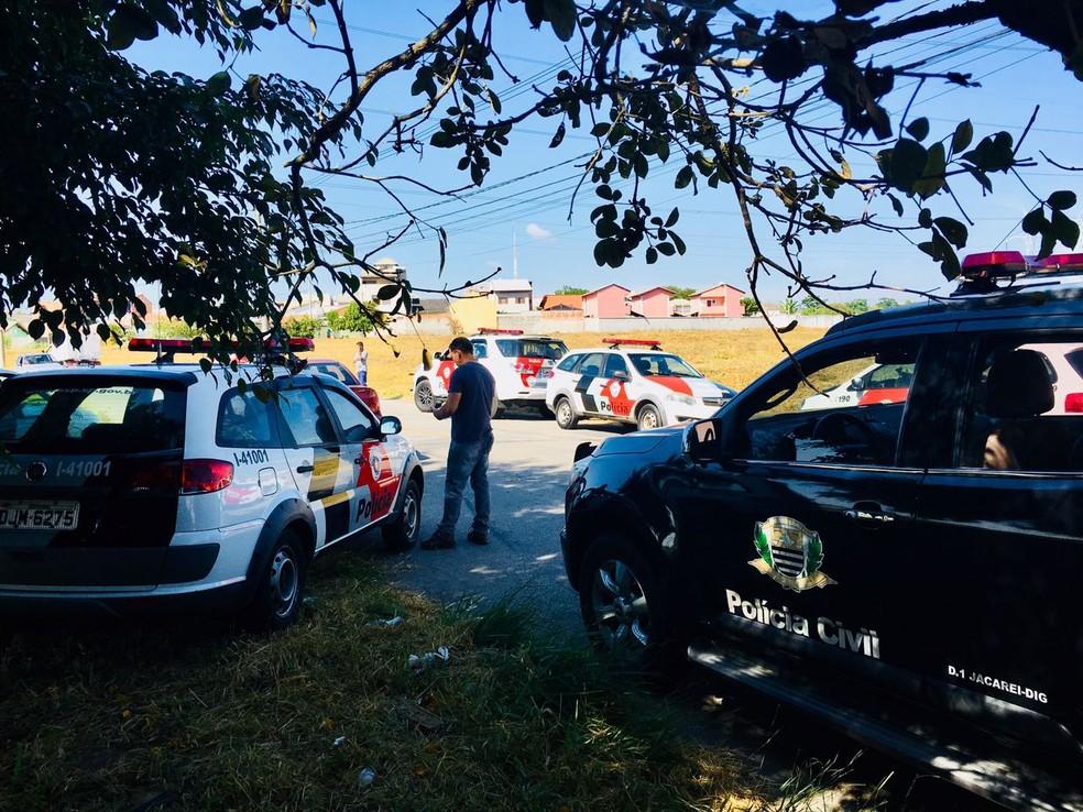 Suspeito é morto por policial de folga em Jacareí (Foto: Divulgação)
