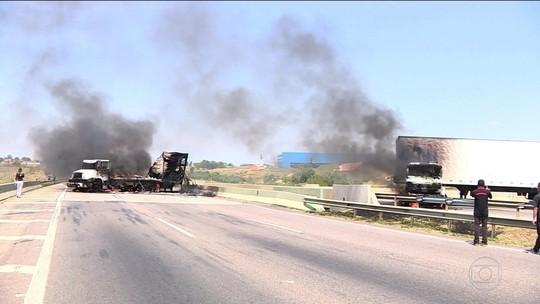 Roubo em Viracopos termina com 3 suspeitos mortos e reféns liberados