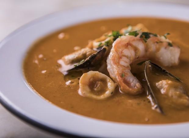 Sopa de frutos do mar (Foto: Divulgação)