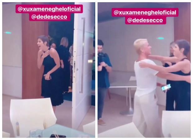 Deborah Secco e Xuxa (Foto: Instagram/Reprodução)