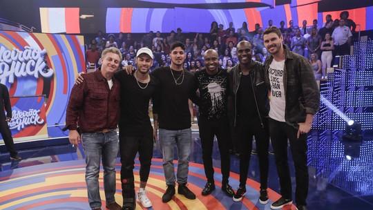 Thiaguinho, Medina, Rafael Zulu e Bruninho revelam quem é quem no grupo de mensagens que eles têm com Neymar e Huck