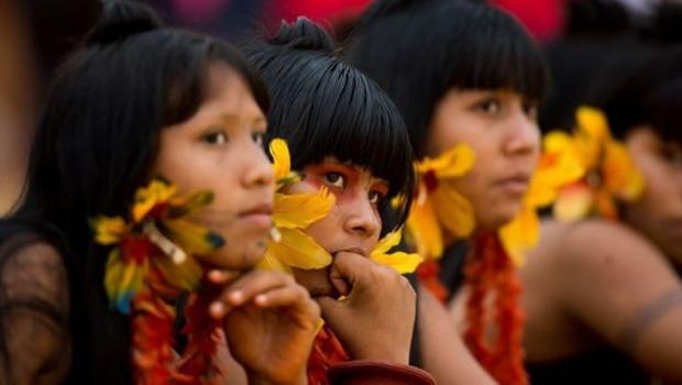 O processo de demarcação de terras indígenas depende de aval presidencial, por meio de decreto (Foto: Marcelo Camargo/Agência Brasil via BBC News Brasil)