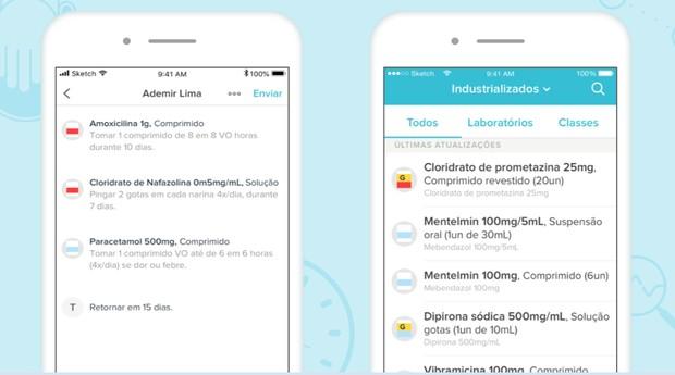 App da Memed tem banco com mais de 60 mil medicamento (Foto: Divulgação)