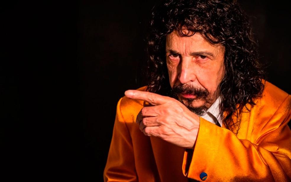 Cantor Benito Di Paula se apresenta neste sábado (12) no Teatro Riachuelo (Foto: Raony Correia/Divulgação)