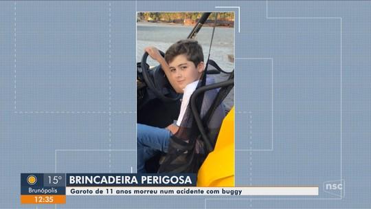 Menino de 11 anos que morreu após acidente com Buggy é velado no Norte do estado