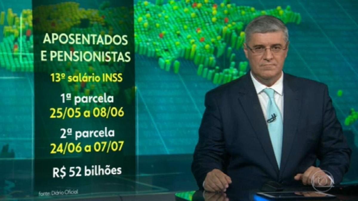 Governo antecipa pagamento do 13° de aposentados e pensionistas do INSS