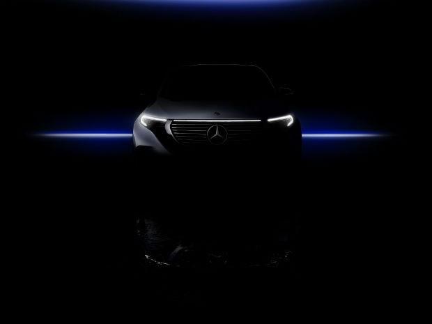 Novas imagens do Mercedes EQC são divulgadas (Foto: Divulgação)