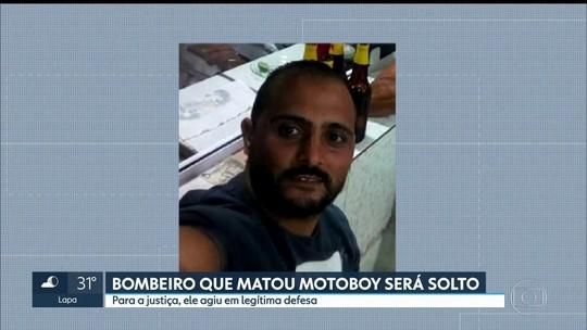 Justiça manda soltar bombeiro que matou motoboy após briga de trânsito em SP