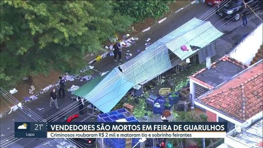 Vendedores são mortos em feira de Guarulhos