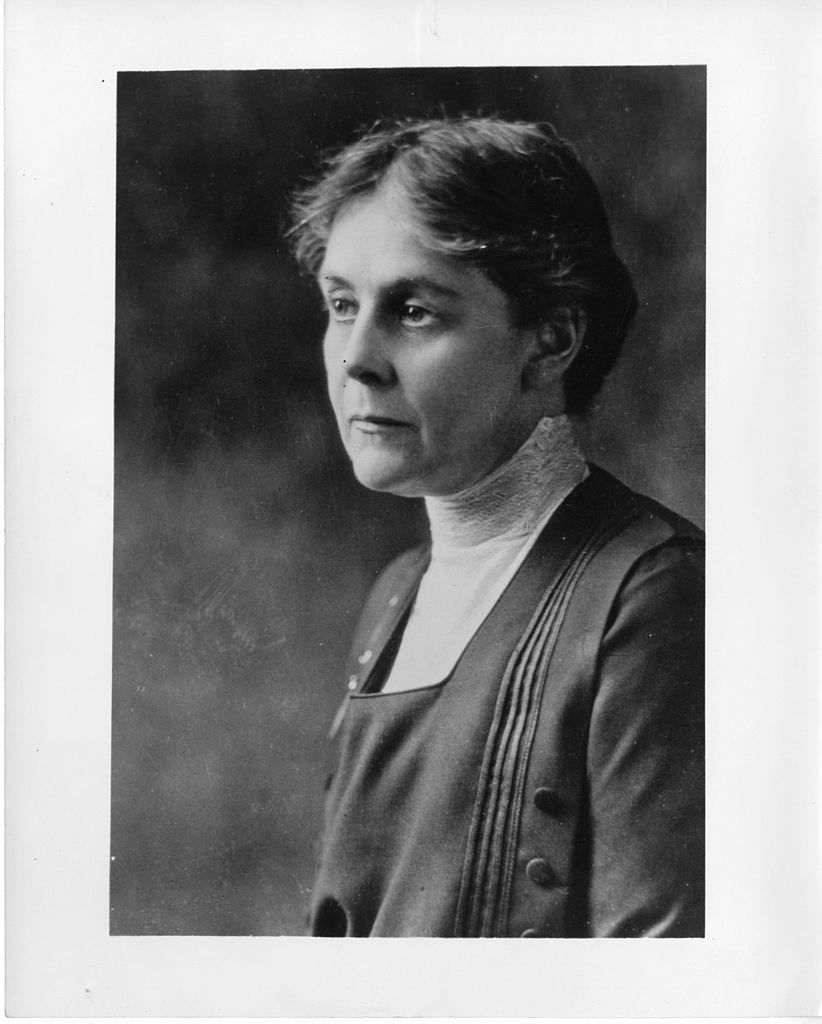 A cientista Alice Hamilton (Foto: Smithsonian Institution/Wikimedia Commons)
