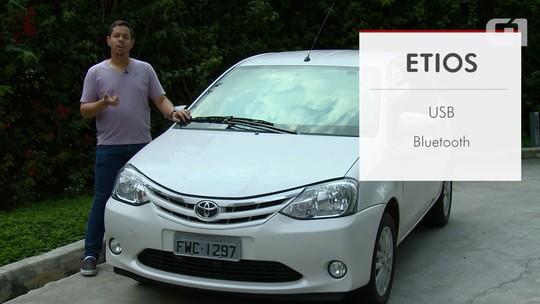 Toyota Etios: G1 avalia central multimídia