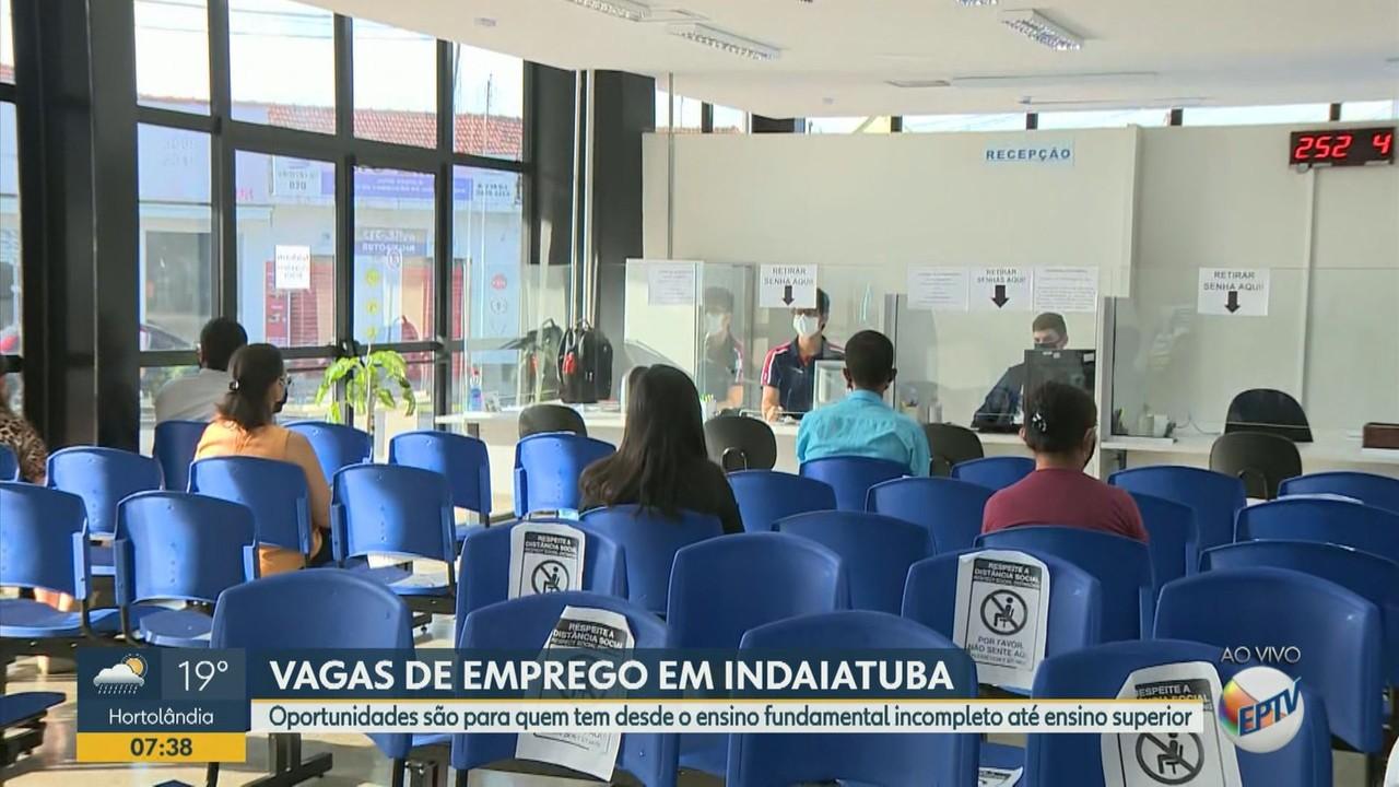 PAT de Indaiatuba tem 114 vagas de emprego abertas para todos os níveis de escolaridade