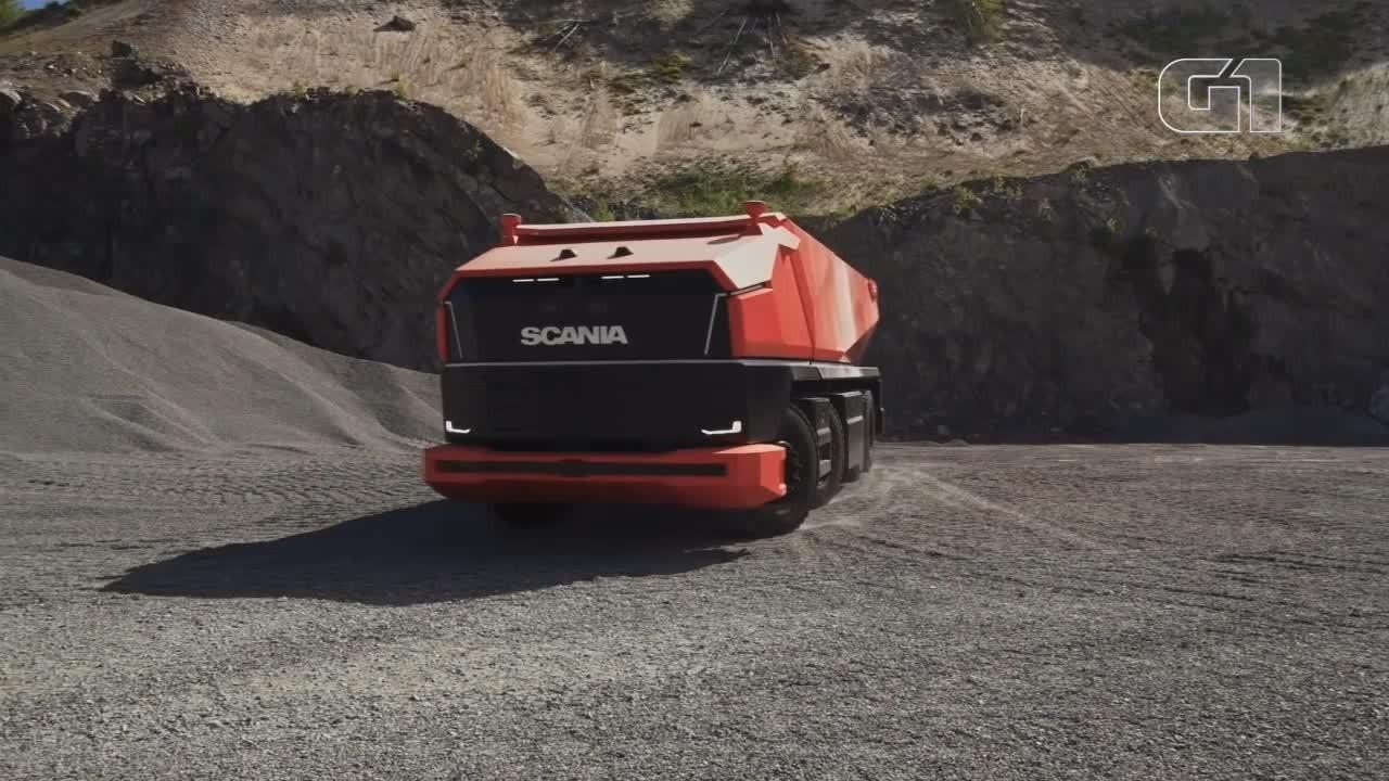 Veja como funciona um caminhão que dirige sozinho e não tem nem cabine