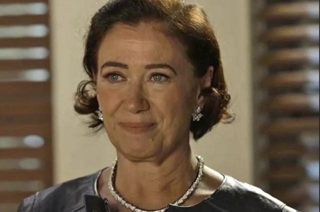Lília Cabral é valentina (Foto: TV Globo)