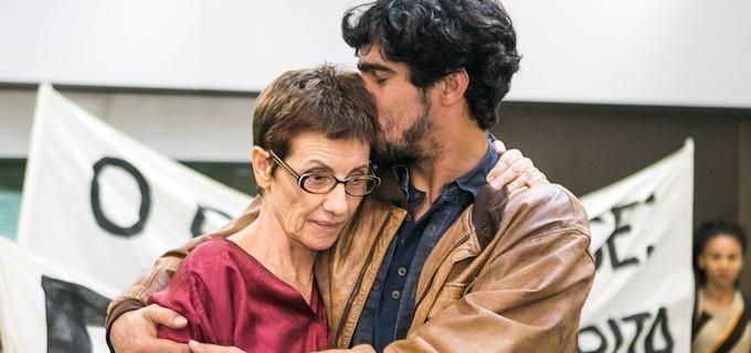 Cassia Kis e Renato Goes em 'Os dias eram assim' (Foto: TV Globo)