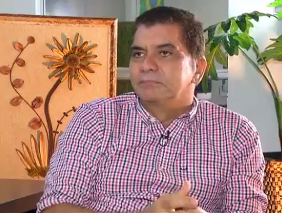 Carlos Amastha é candidato ao governo pelo PSB (Foto: Reprodução/TV Anhanguera)
