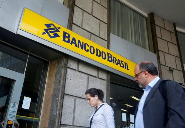 Agência do Banco do Brasil no centro do Rio de Janeiro (Foto: Pilar Olivares/File Photo/Reuters)