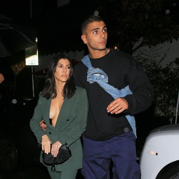 Kourtney Kardashian e Younes Bendjima (Foto: AKM/GSI)