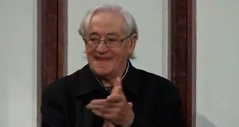 Cesare La Rocca fundador do Projeto Axé — Foto: Imagens/ Tv Bahia