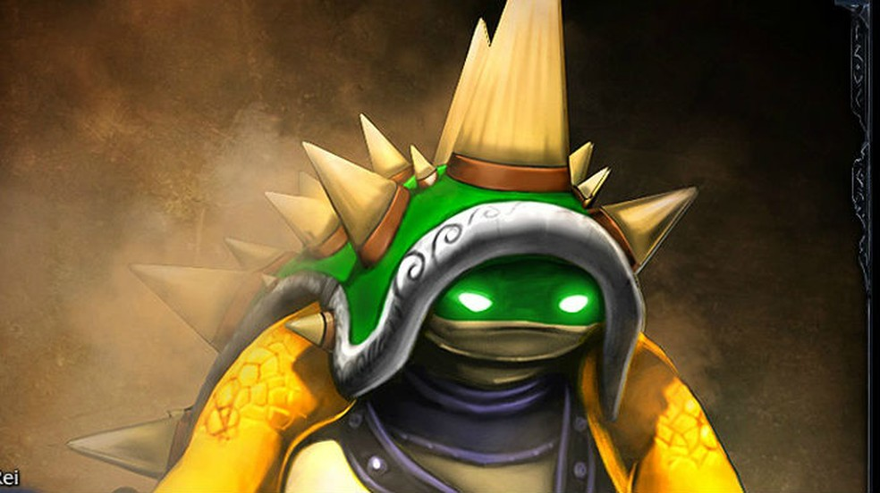 As skins mais raras de League of Legends: Rammus Rei — Foto: Divulgação/Riot Games