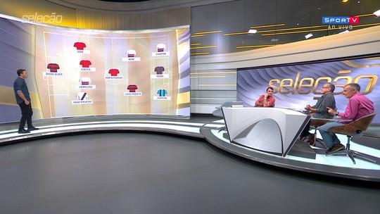 Comentaristas elegem suas seleções do primeiro turno do Brasileiro; veja times