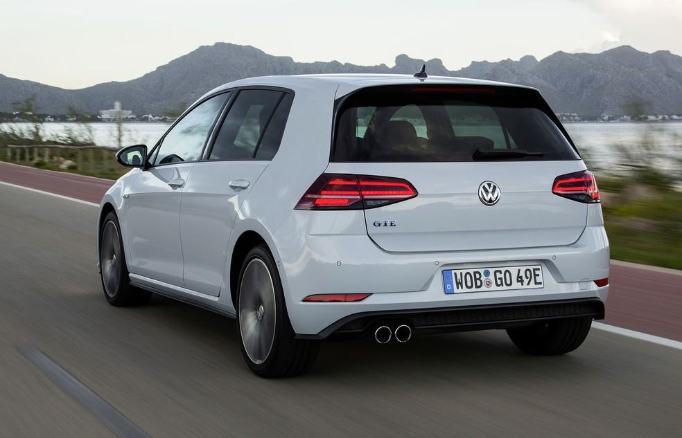 Volkswagen Golf GTE  — Foto: Divulgação/Volkswagen