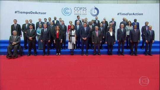 Começa em Madri a conferência do clima da ONU, que reúne 50 chefes de Estado