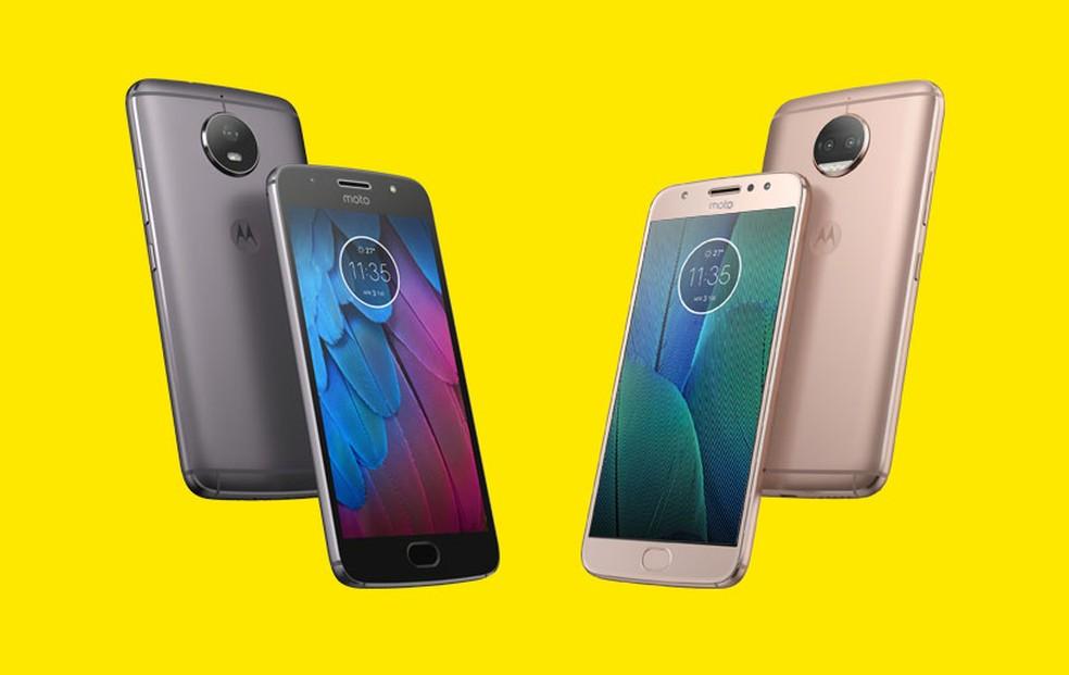 b516aa7b1 ... Moto G5S e Moto G5S Plus completam a linha de intermediários da Motorola  — Foto