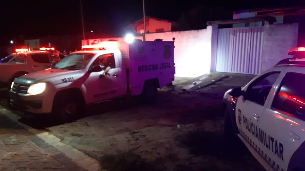 Crime ocorreu na noite de quinta (21) — Foto: Reprodução